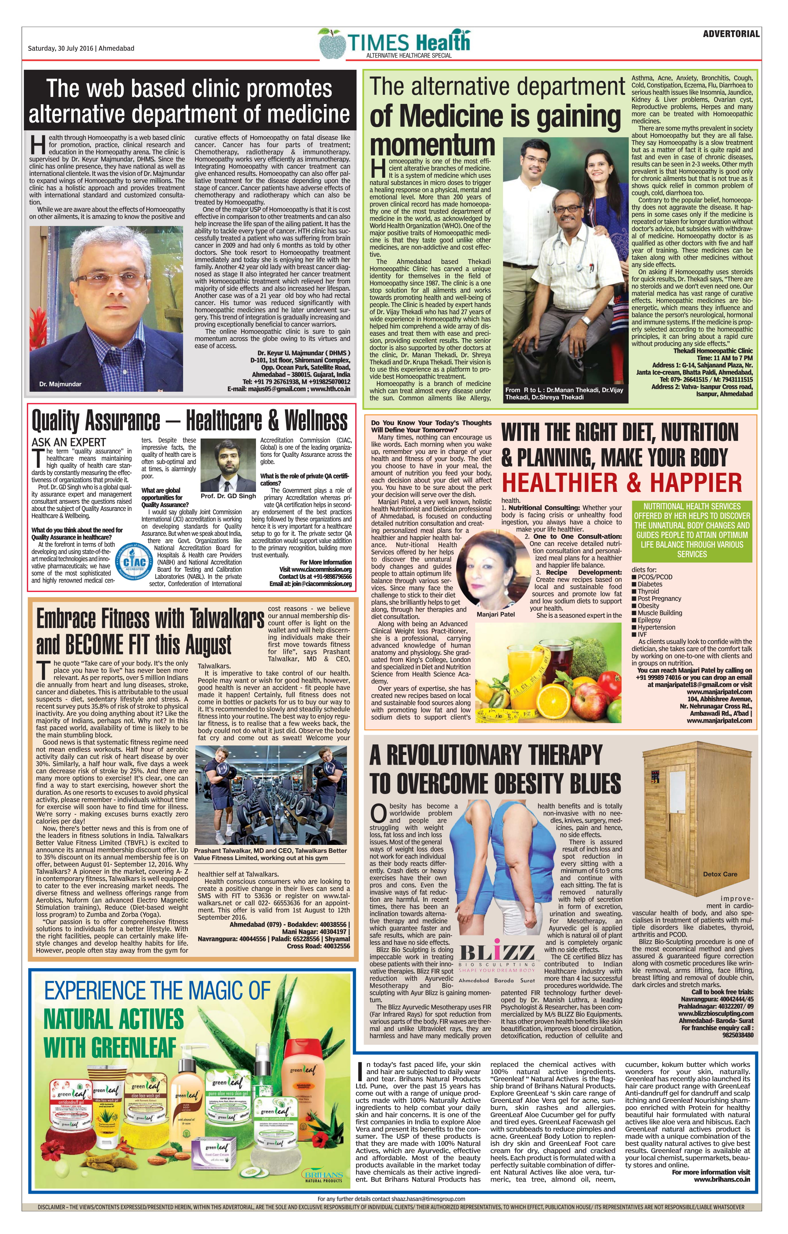 prof-dr-gd-singh-the-founder-president-of-ciac-global-appeared-in-toi-featured-ask-the-expert-healthcare-column-on-july-30-2016